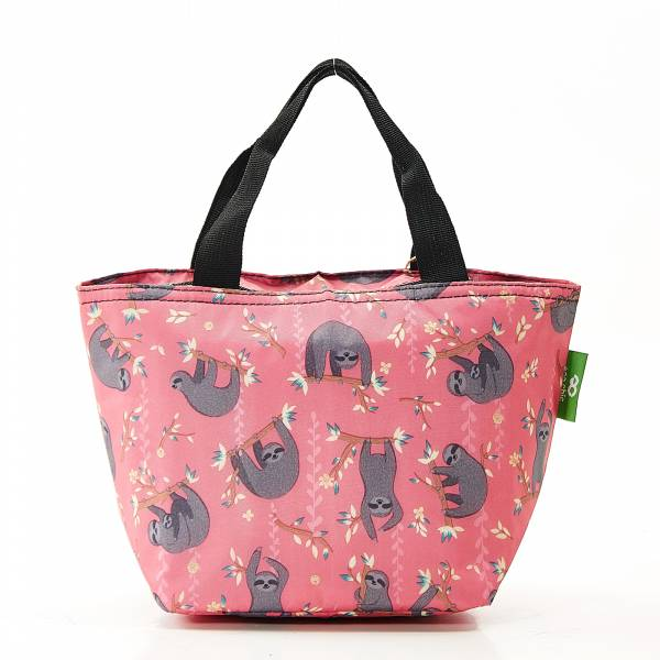 C22 Red Sloth Lunch Bag x 2