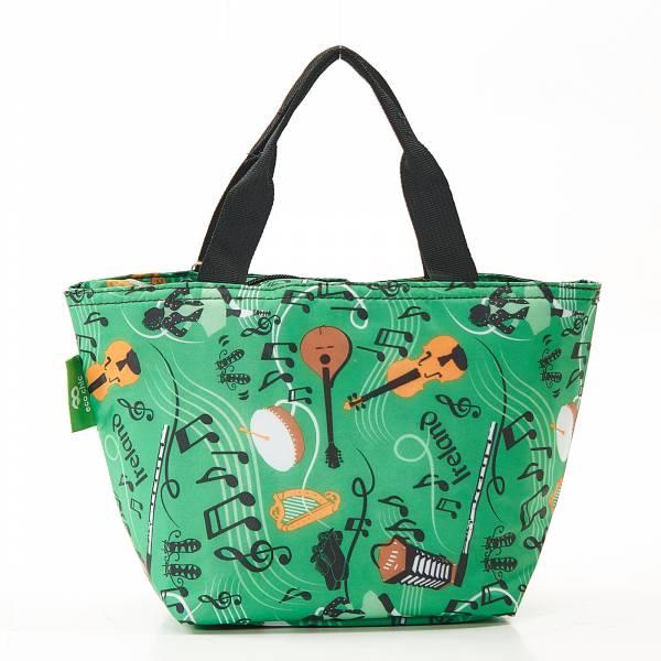 C24 Green Irish Music Lunch Bag x2