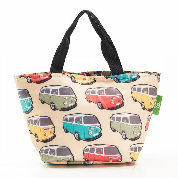 C26 Beige Camper Vans Lunch Bag x2
