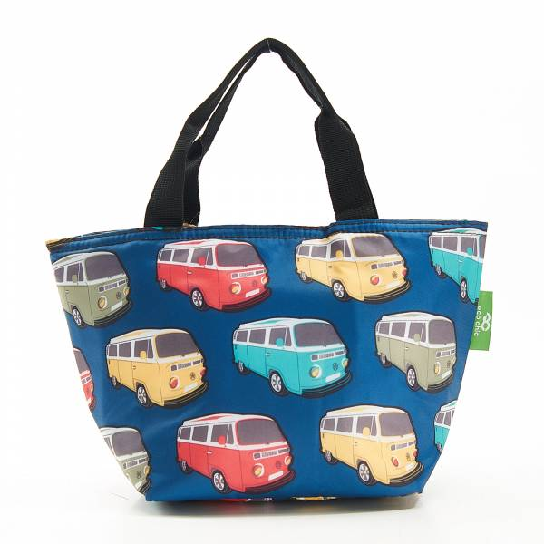 C26 Teal Camper Vans Lunch Bag x2