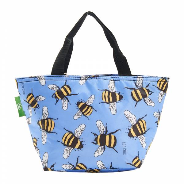 C29 Blue Bees Lunch Bag x2