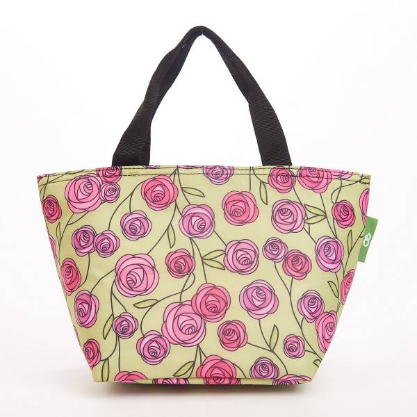 C31 Green Mackintosh Rose Lunch Bag x2