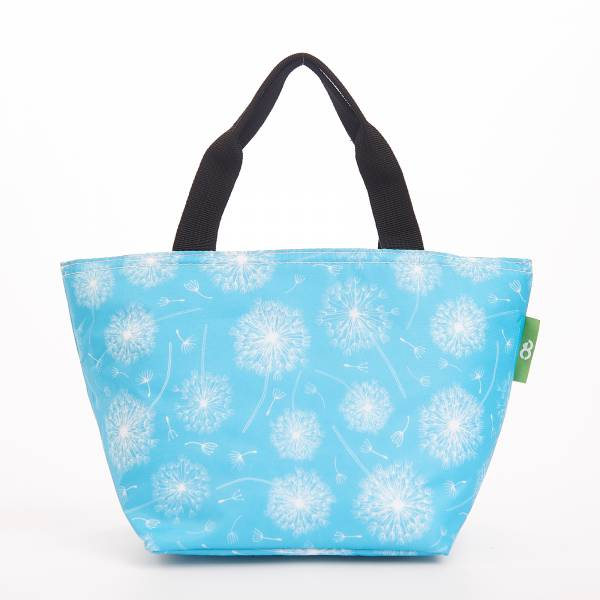 C32 Blue Dandelion Lunch Bag x2