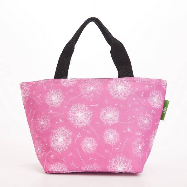 C32 Dusty Pink Dandelion Lunch Bag x2