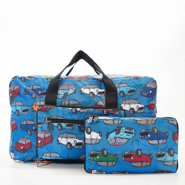 D01 Blue Mini Car Holdall x2