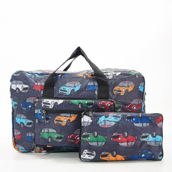 D01 Grey Mini Car Holdall x2