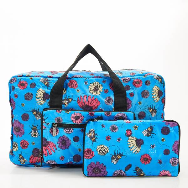 D02 Blue Bee2 Holdall x2