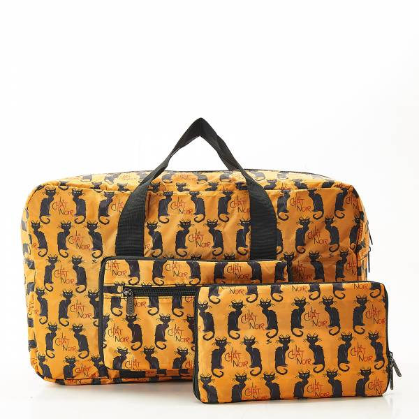 D03 Mustard Le Chat Noir Holdall x2