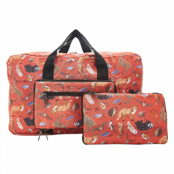 D06 Red Woodland Holdall x2