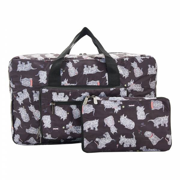 D08 Black Scatty Scotty Holdall x2