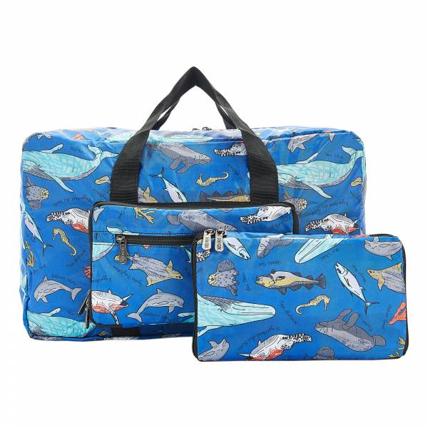 D12 Blue Sea Creatures Holdall x2