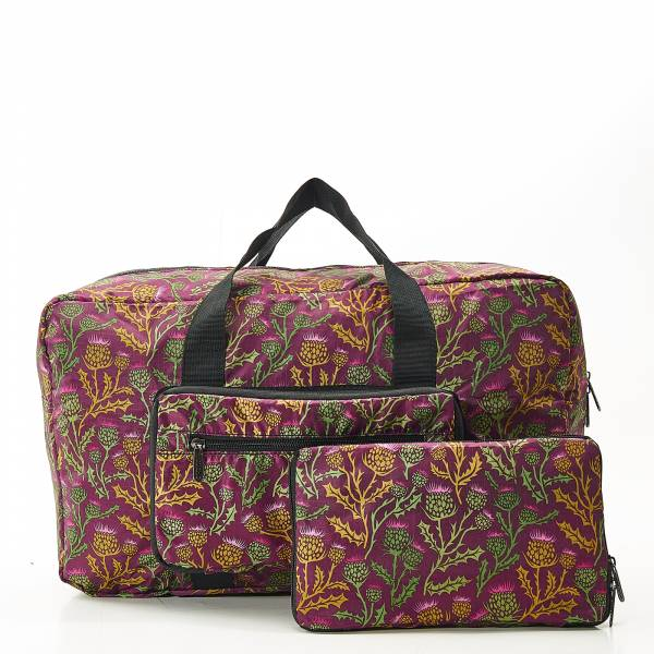 D15 Purple Thistle Holdall x2