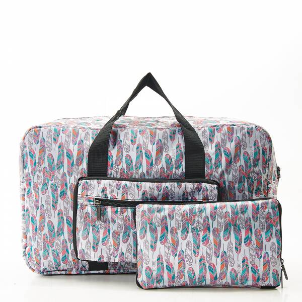 D19 White Feather Holdall x2