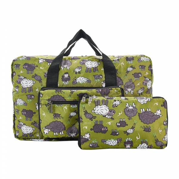 D22 Green Sheep Holdall x2