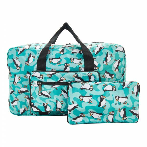 D23 Teal Puffin Holdall x2