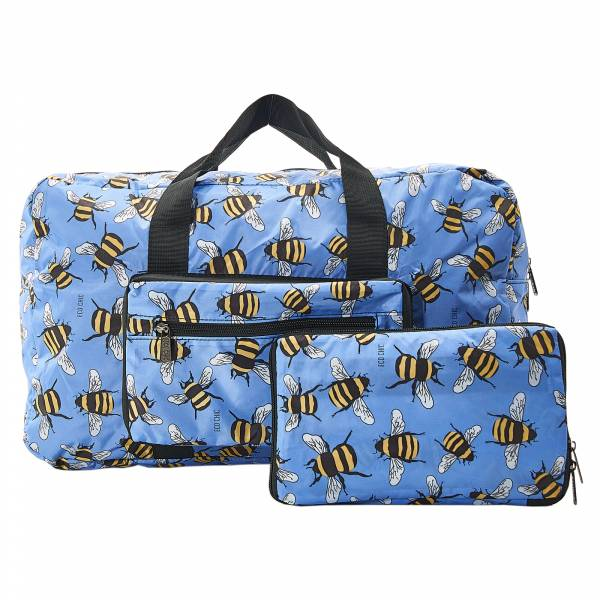 D24 Blue Bees Holdall x2