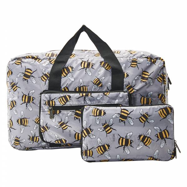 D24 Grey Bees Holdall x2