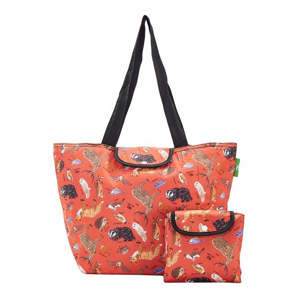 E02 Red Woodland Large Cool Bag x2