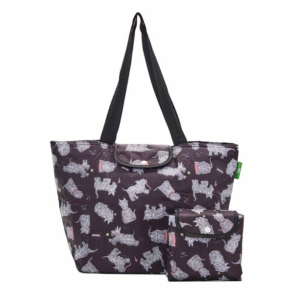 E04 Black Scatty Scotty Large Cool Bag x2