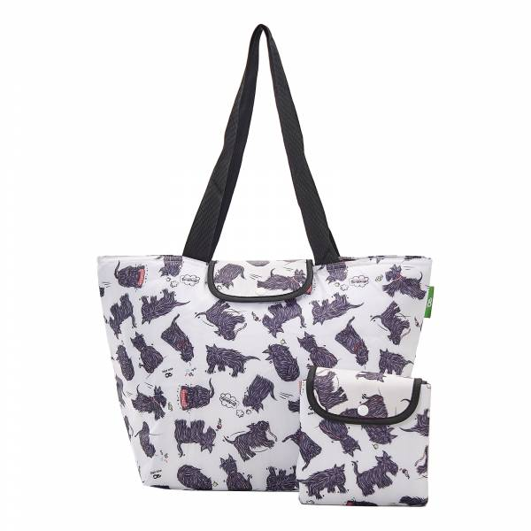 E04 White Scatty Scotty Large Cool Bag x2
