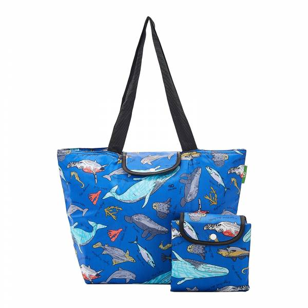 E07 Blue Sea Creatures Large Cool Bag x2