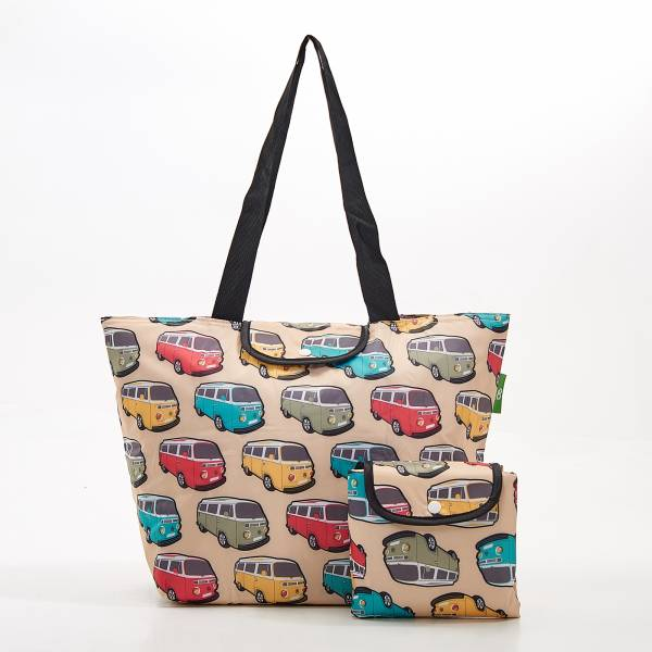 E12 Beige Camper Vans Large Cool Bag x2