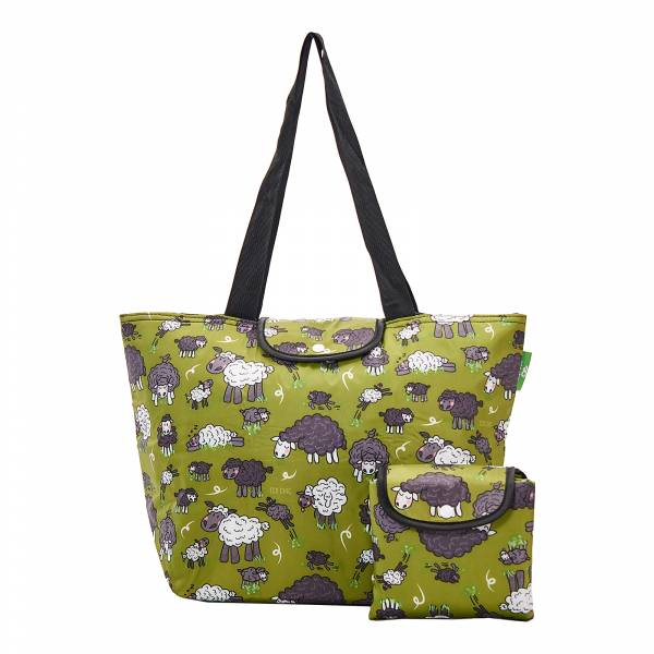 E13 Green Sheep Large Cool Bag x2