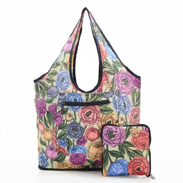 F06 Green Peonies Weekend Bag x2