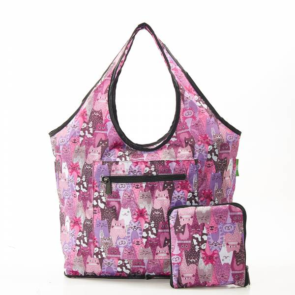 F10 Purple Stacking Cats Weekend Bag x2