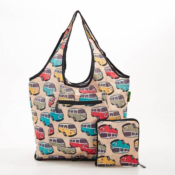F12 Beige Camper Vans Weekend Bag x2