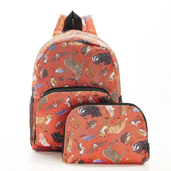 G01 Red Woodland Backpack Mini x2