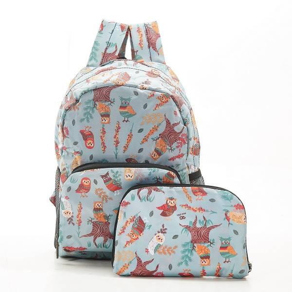 G02 Blue Owl Backpack Mini x2