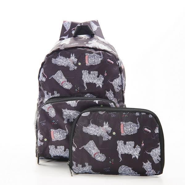 G03 Black Scatty Scotty Backpack Mini x2