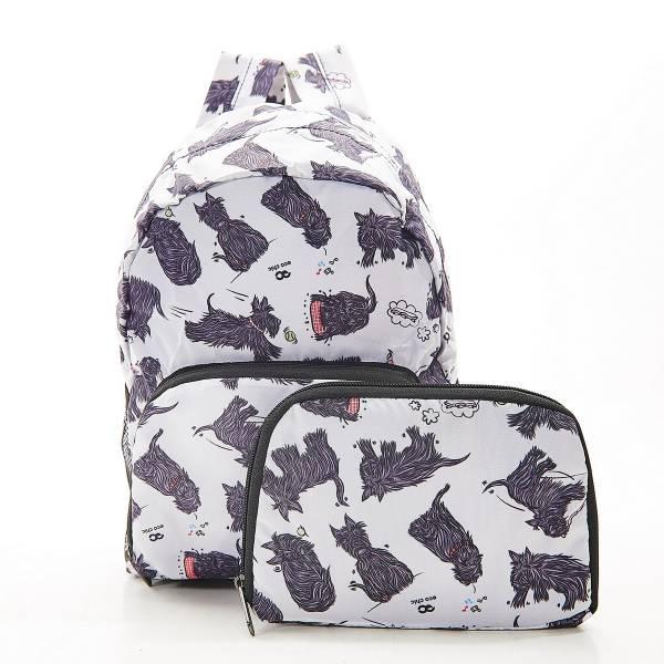 G03 White Scatty Scotty Backpack Mini x2