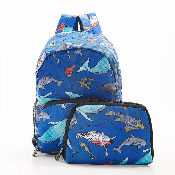 G05 Blue Sea Creatures Backpack Mini x2