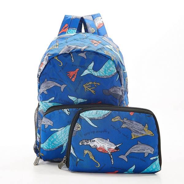 G05 Blue Sea Creatures Backpack Mini x2
