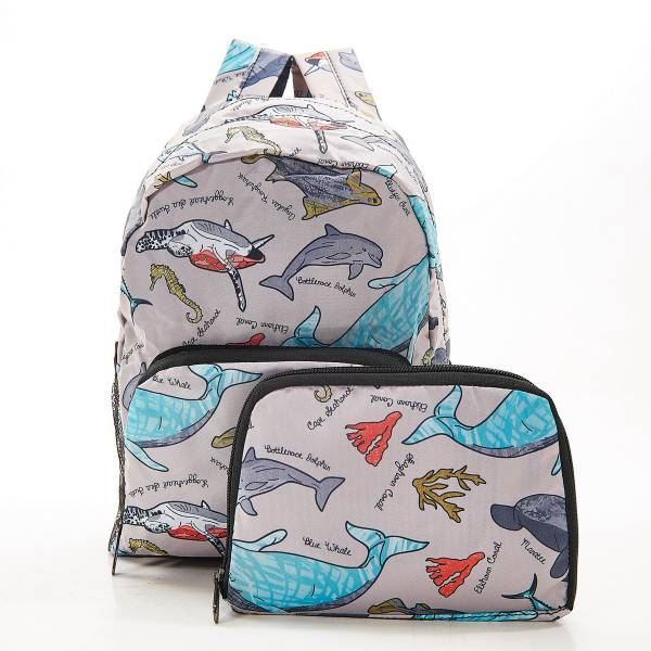 G05 Grey Sea Creatures Backpack Mini x2
