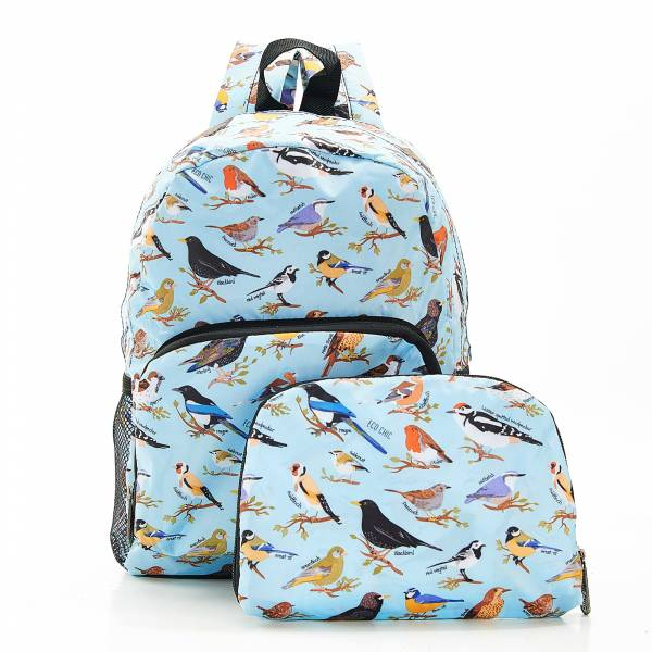 G06 Blue Wild Birds Backpack Mini x2