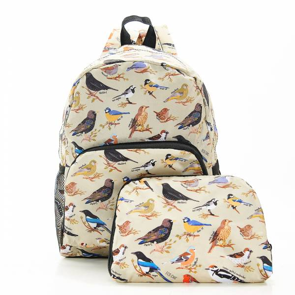 G06 Green Wild Birds Backpack Mini x2