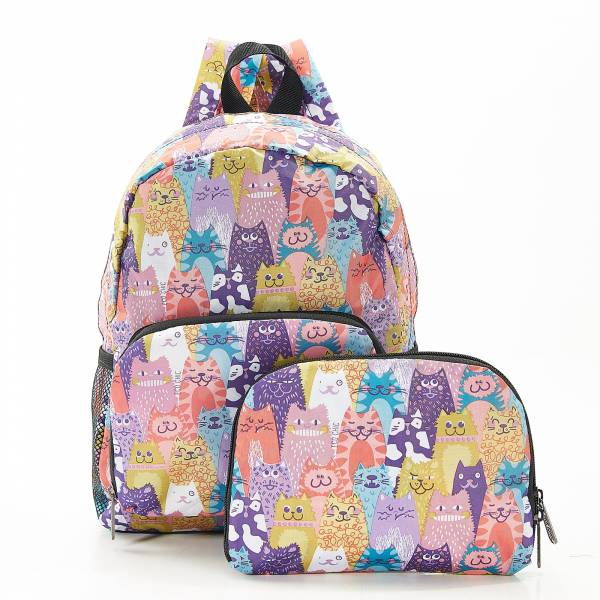 G07 Multiple Stacking Cats Backpack Mini x2