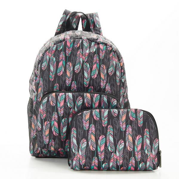 G08 Black Feather Backpack Mini x2