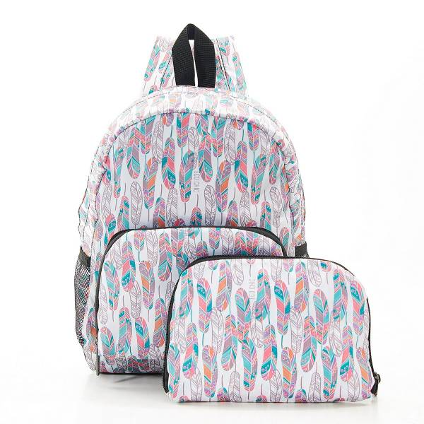 G08 White Feather Backpack Mini x2