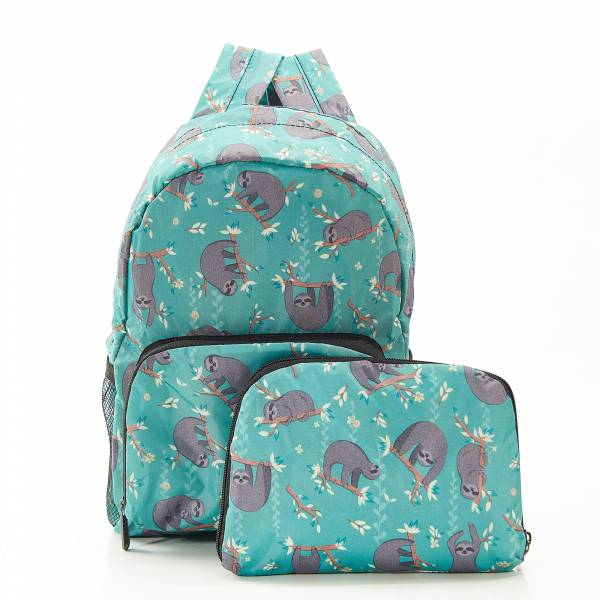 G09 Blue Sloth Lunch Backpack Mini x2