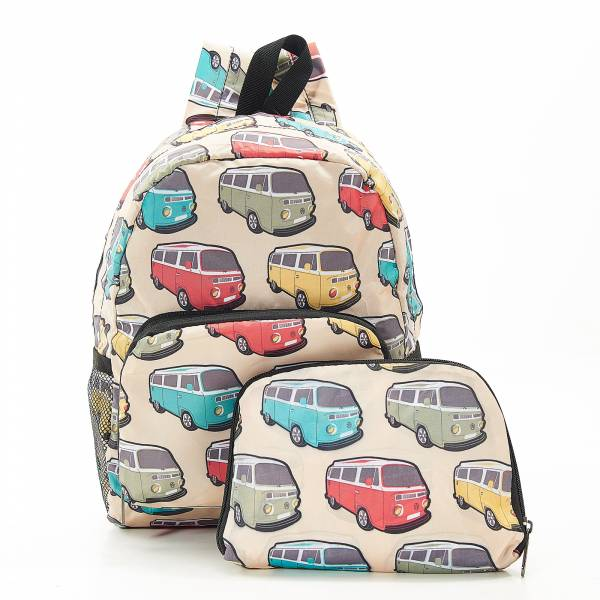 G10 Beige Camper Vans Backpack Mini x2
