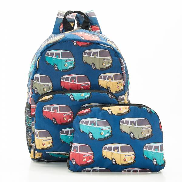 G10 Teal Camper Vans Backpack Mini x2