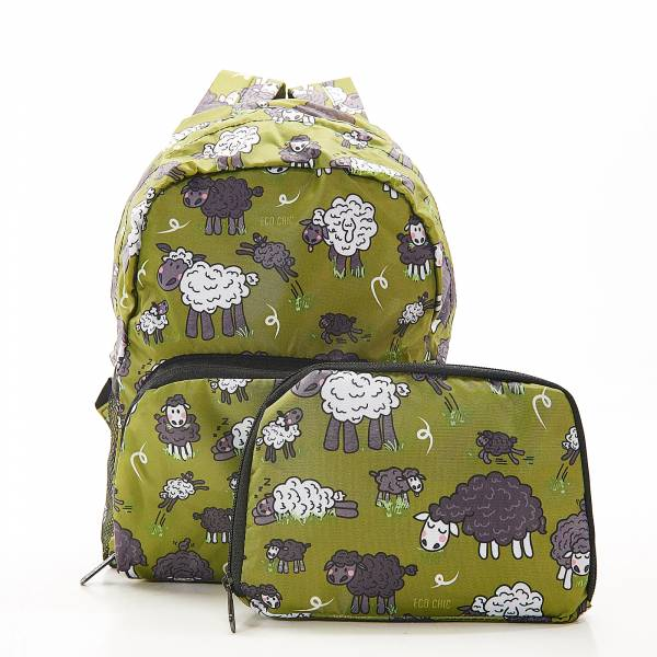 G11 Green Sheep Backpack Mini x2