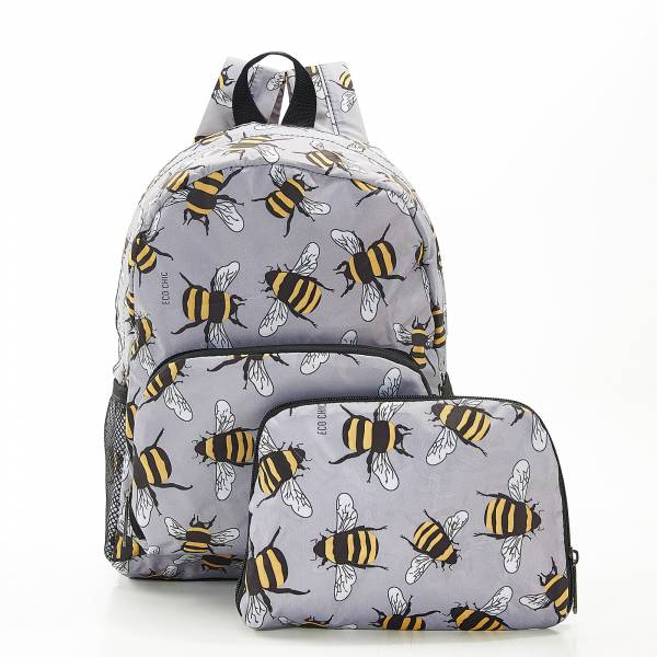 G12 Grey Bees Backpack Mini x2