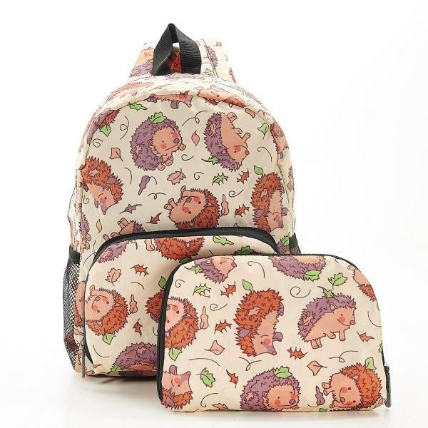 G13 Beige Hedgehog Backpack Mini x2