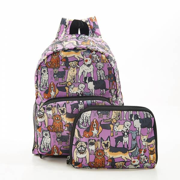 G14 Lilac Dogs Backpack Mini x2