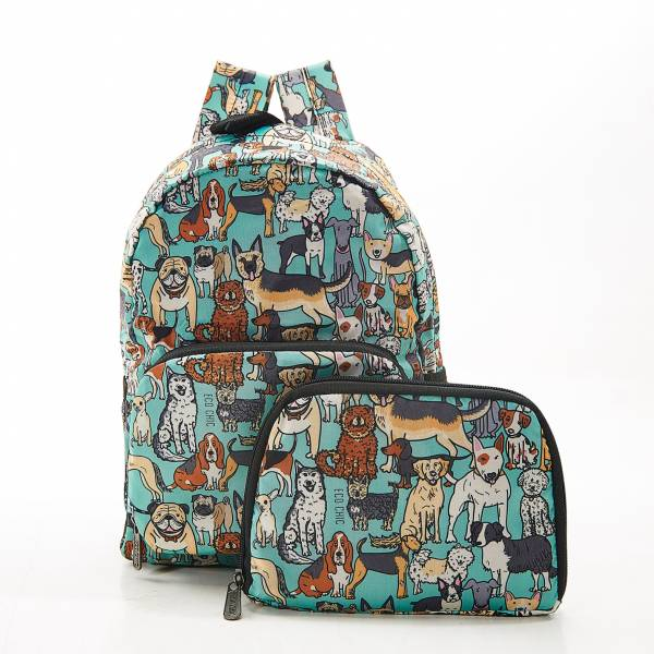 G14 Teal Dogs Backpack Mini x2